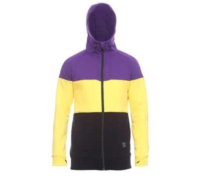 Худи SWHK Exception ZIP Purple/Yellow